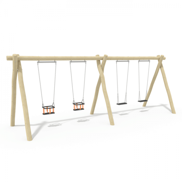 2.4m Double Bay Swing