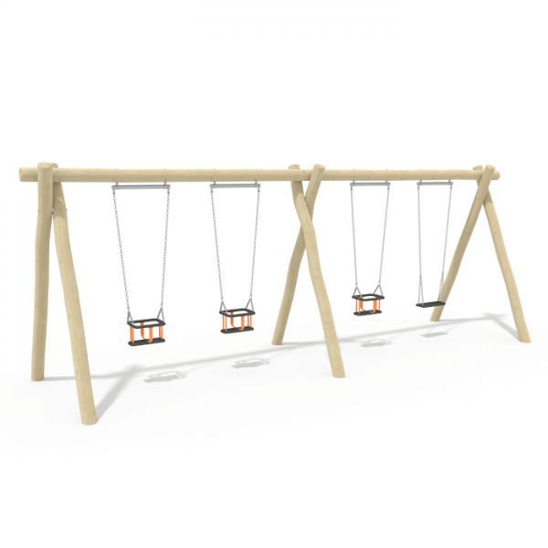 2.4m Double Bay Swing