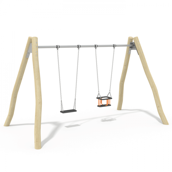 2.4m Seat Swing (Steel Top Beam)