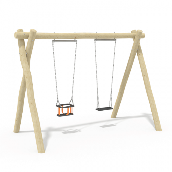 2.4m Cradle & Flat Swing