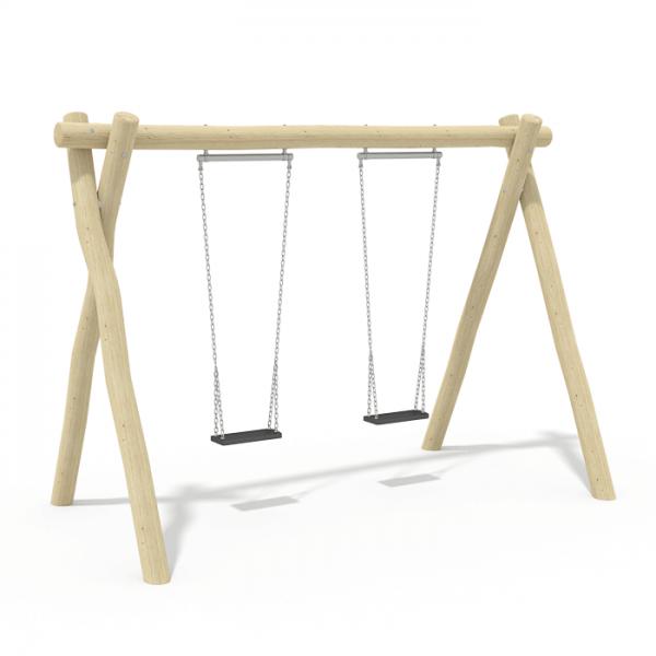 2.4m Flat Seat Swing