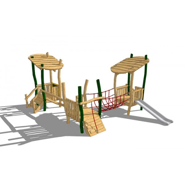 Three Tower Toddler Unit